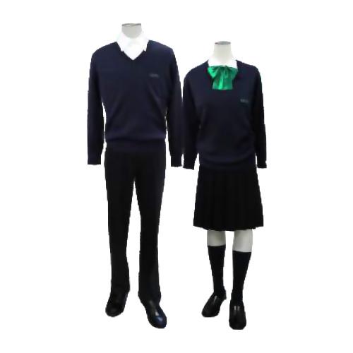 慶風高等学校制服画像
